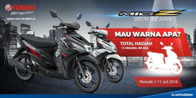 Yamaha Indonesia Ajak Konsumen Tentukan Warna Baru Mio Z
