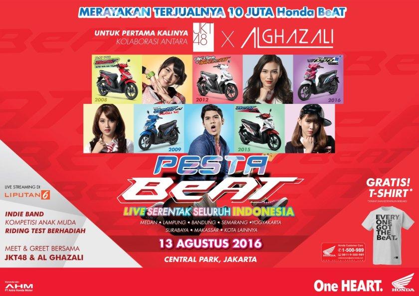 Pesta Beat Akankah Jadi Moment Launching Honda Beat Facelift