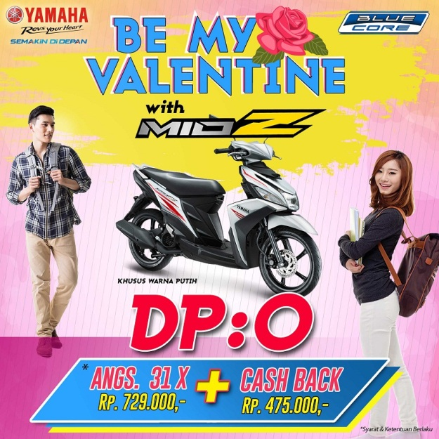 moment-valentine-yamaha-jatim-rilis-program-dp-nol-mio-z