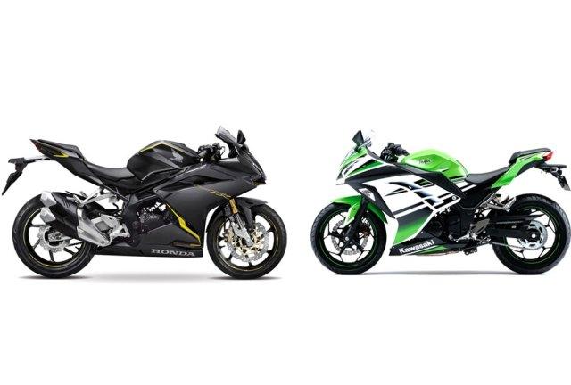 AISI Februari 2017 CBR250RR vs Kawasaki Ninja 250.jpg