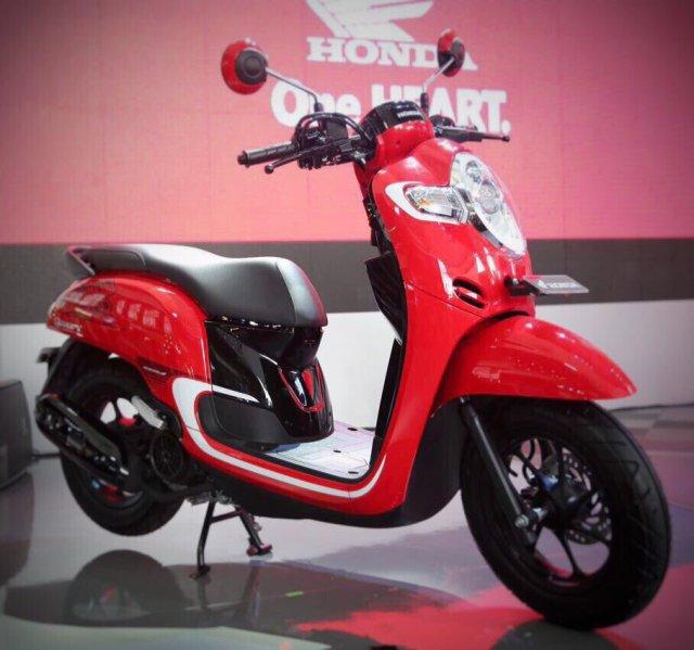 AllNew Honda Scoopy 2017