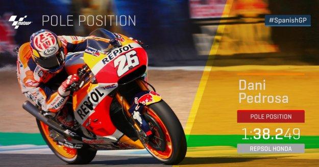 MotoGP Jerez Spanyol 2017 Kualifikasi  Pedrosa Start Terdepan, Honda Kuasai Row 1.jpg