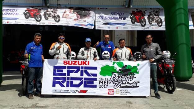 Rayakan Ultah Motor Plus dan National Geographic Indonesia, 5 Rider Profesional ini Geber Suzuki GSX-S150 dari Lombok Hingga Sumbawa (1).jpg