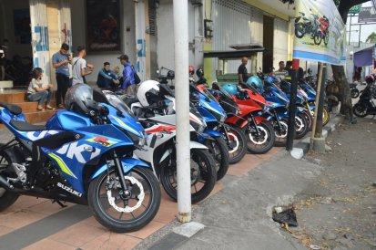 Gandeng 86 Production, Suzuki Motor Sales Gelar Kuliner Touring Bareng GSX-S150 & SUGOI Kediri (Part 1) (4)