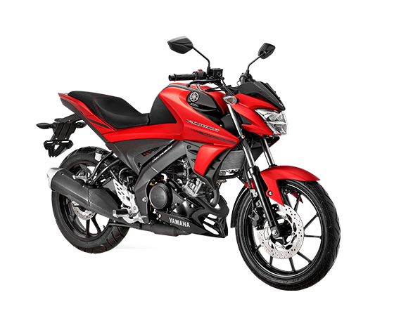New Vixion R Matte Red Black