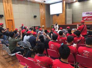 AHM Factory Visit, 55 Blogger dan Vlogger Otomotif Senusantara Sambangi Plant 4 dan 5 AHM di Karawang (5)