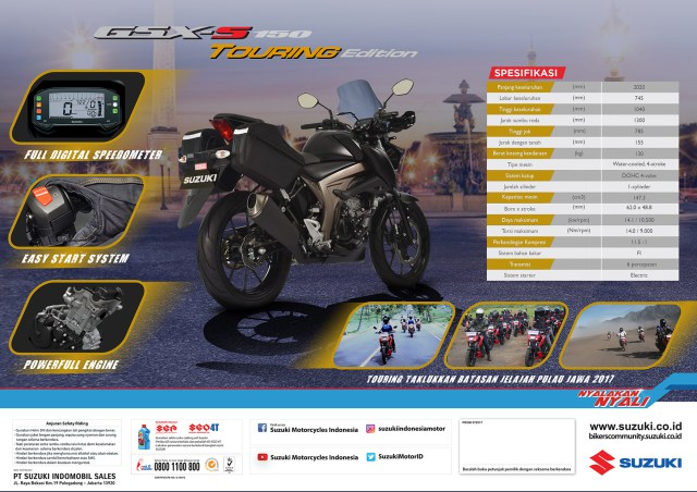 Suzuki-Indomobil-Sales-Luncurkan-Suzuki-GSX-S150-Touring-Edition-3