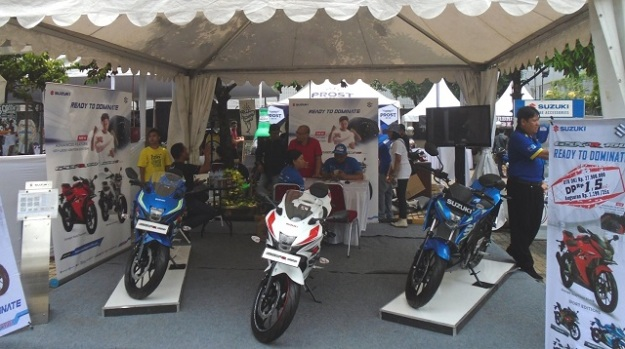 BURTOR 2017, Tidak Hanya Jualan Motor, Suzuki Hadirkan Konsep Gaya Hidup dan Tren Bikers Masa Kini