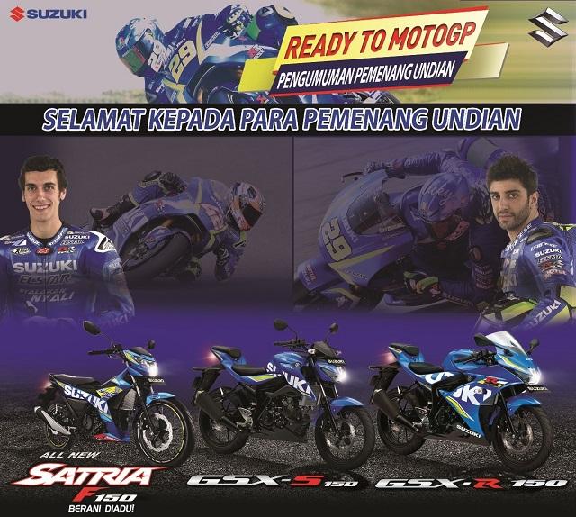 Berikut 70 Konsumen Suzuki Yang Beruntung Nonton MotoGP Langsung di Sepang