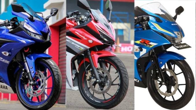 Data AISI September 2017, Kelas Sport Fairing 150 CC, Honda CBR150R Paling Laris di Banding Yamaha R15 dan Suzuki GSX-R150