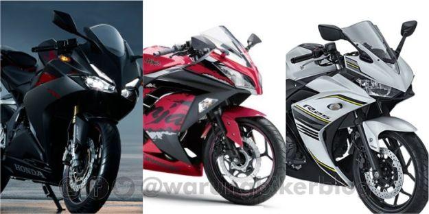 Data AISI September 2017, Penjulan Kawasaki Ninja 250 Unggul atas Honda CBR250rr dan Yamaha R25
