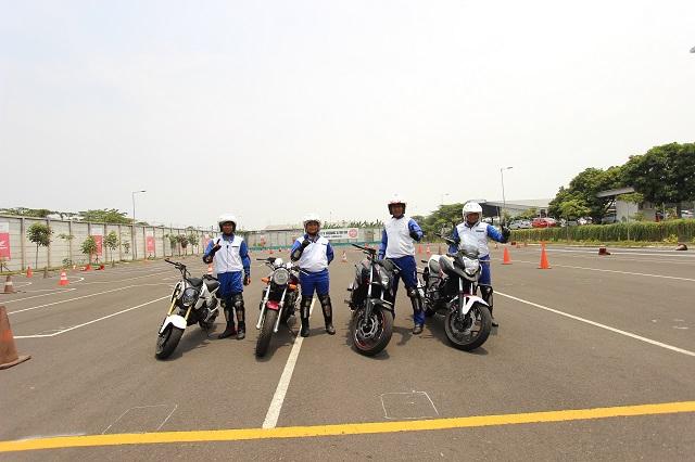 Dua Intruktur Safety Riding MPM Siap Berlaga di 18th SJIC 2017