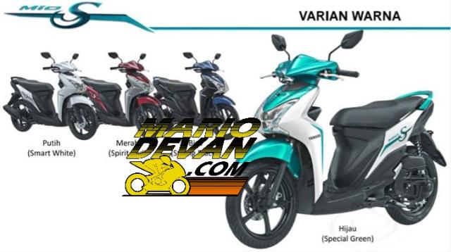 Foto Yamaha Mio S, Ada 4 Pilihan Warna, Harga 17 Jutaan OTR Surabaya