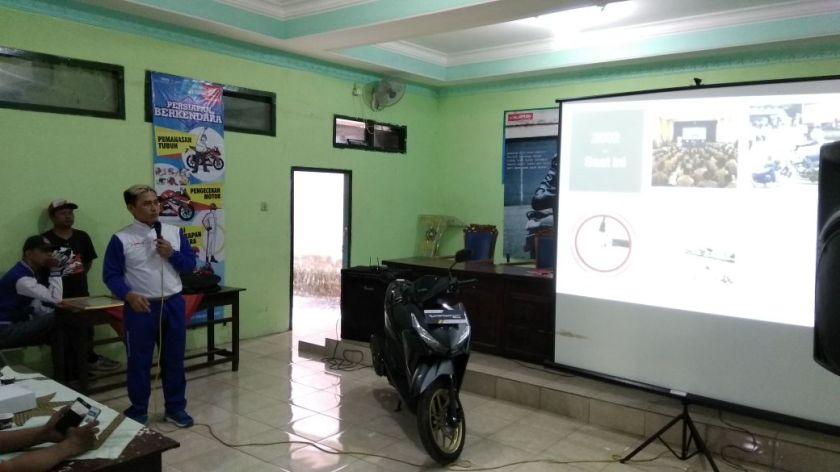 Kampanye #Cari_Aman, MPM Honda Jatim Gelar Safety Riding di DEPAG Kota Kediri (6)