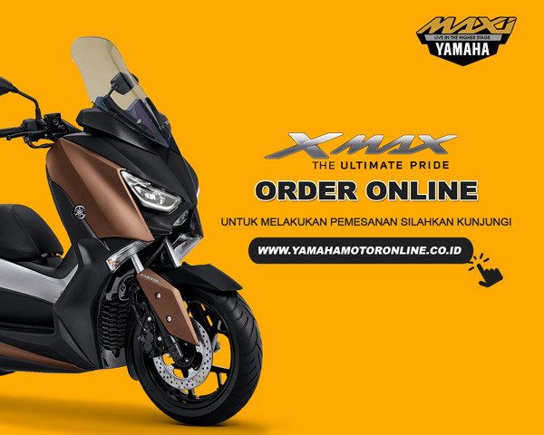 Konsumen Yamaha di indonesia Timur, Bergairah Berburu XMAX lewat order online