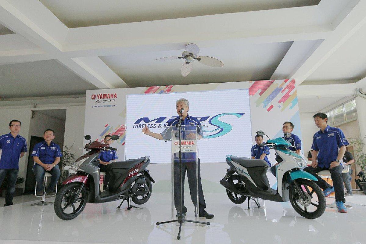 Mio S 125 Bluecore, Ban Tubeless & Lebar, Harga Rp. 15.750.000,- OTR Jakarta
