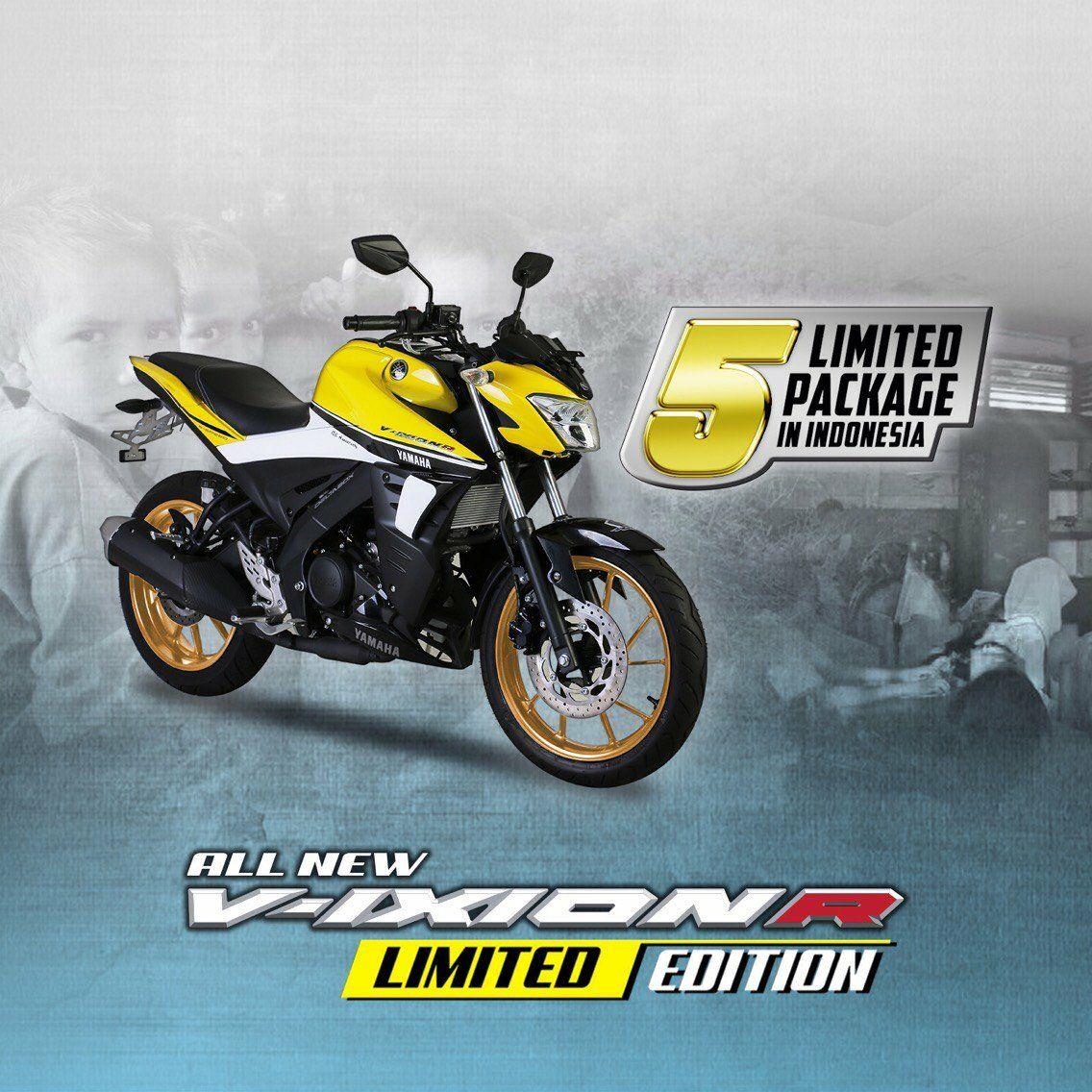 Peduli Pendidikan di NTT, Yamaha Indonesia Merilis VixionR 1 Dekade Limited Edition Package (1)