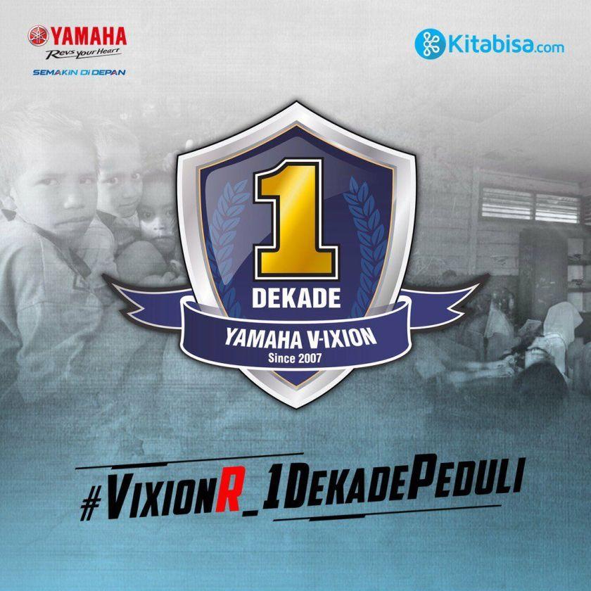 Peduli Pendidikan di NTT, Yamaha Indonesia Merilis VixionR 1 Dekade Limited Edition Package (3)
