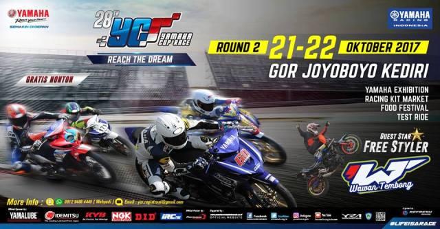 Yamaha Cup Race 2017 Seri 2 Kediri