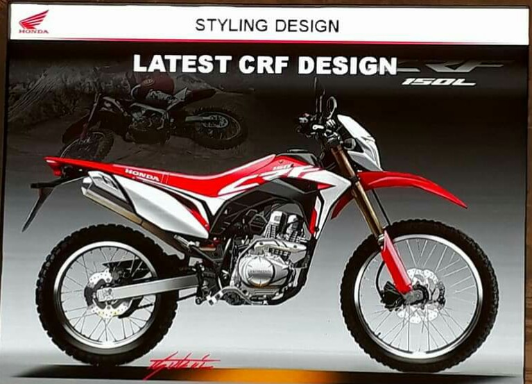 All New Honda CRF150L, Resmi Rilis, Berikut Harganya Sob!