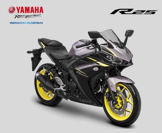 Jelang Tutup Tahun 2017, Yamaha Segarkan warna dan grafis YZF-R25 (2)