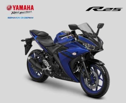 Jelang Tutup Tahun 2017, Yamaha Segarkan warna dan grafis YZF-R25 (3)