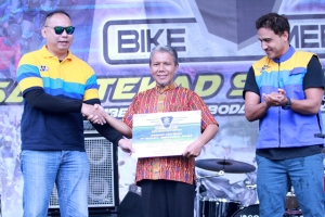 Mengulang Sukses, Ribuan Bikers Meriahkan Suzuki Bike Meet di Kaki Gunung Gede, Jawa Barat (1)