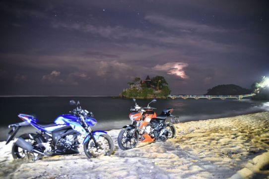 Soul Of The Road, 5 Riders Suzuki GSX-S150 Jelajah Pantai Selatan Malang (11)