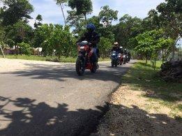 Soul Of The Road, 5 Riders Suzuki GSX-S150 Jelajah Pantai Selatan Malang (5)