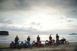 Soul Of The Road, 5 Riders Suzuki GSX-S150 Jelajah Pantai Selatan Malang (9)