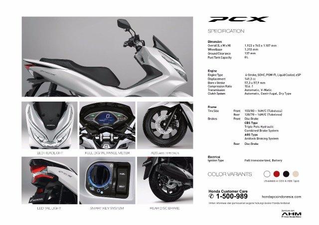 AHM Hadirkan All New Honda PCX 150 Rasa Indonesia, Harga Mulai Rp. 27 juta OTR Jakarta