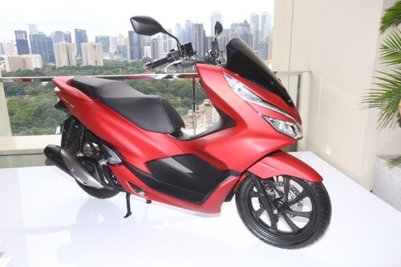 Pilihan Warna All New PCX 150 Lokal (2)