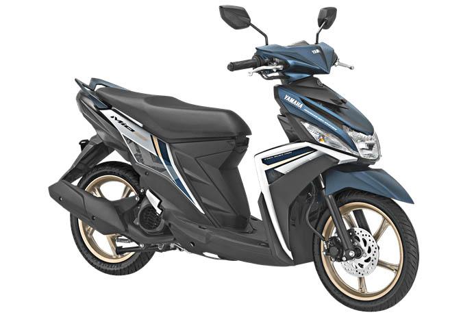 Yamaha Mio M3 125 Model 2018 Kena Wabah Velg Warna Emas (1)