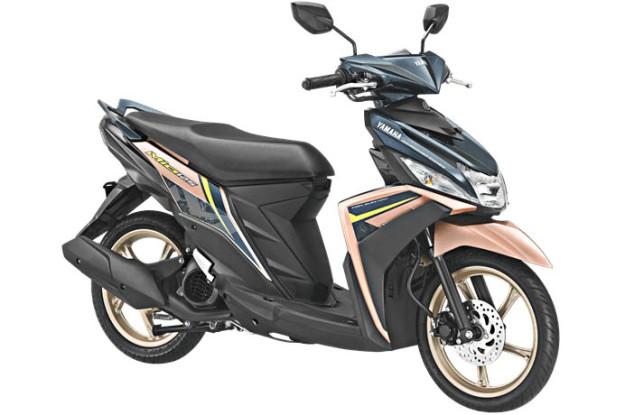 Yamaha Mio M3 125 Model 2018 Kena Wabah Velg Warna Emas (2)