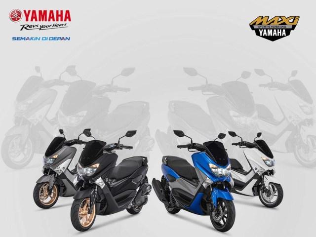 Yamaha NMAX 155 Facelift 2018