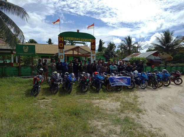 Gelar Aksi Positif, GSX Club Indonesia Beri Donasi di Perbatasan Negara (1)