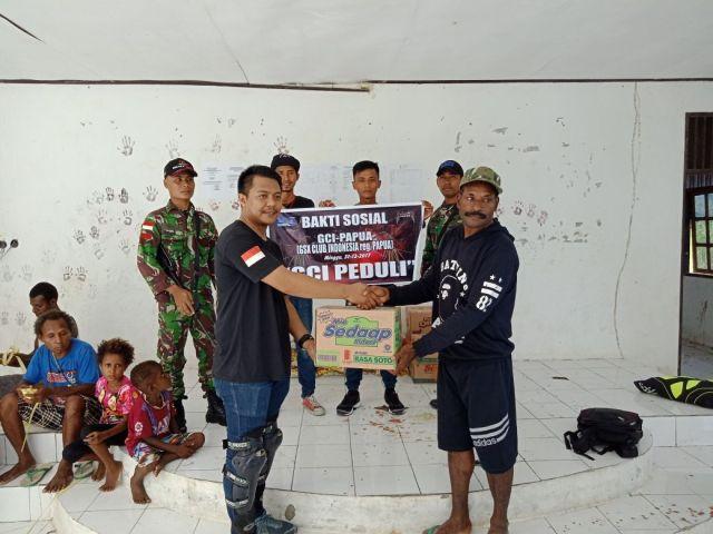 Gelar Aksi Positif, GSX Club Indonesia Beri Donasi di Perbatasan Negara (2)