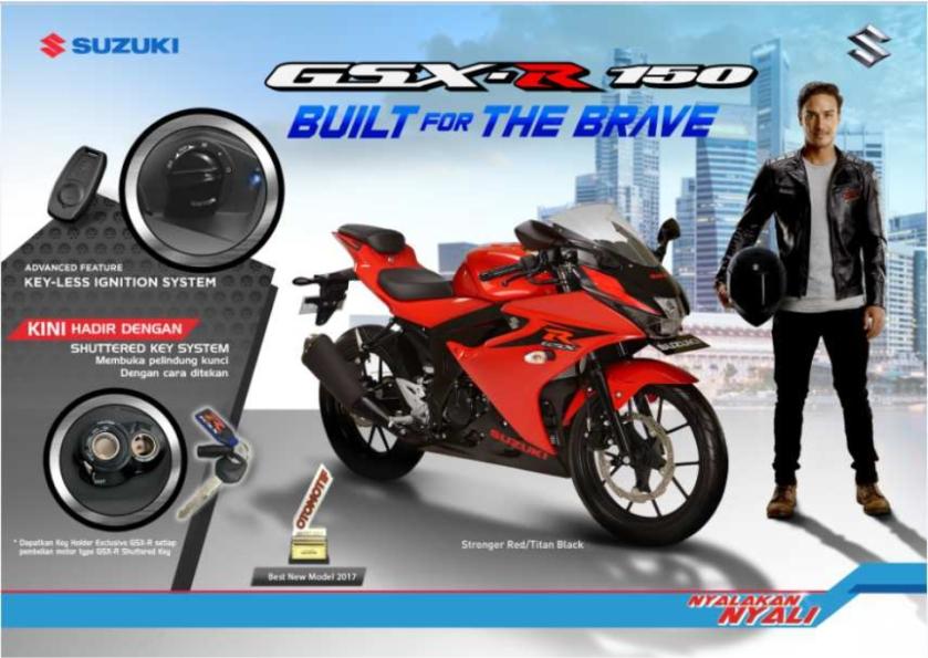 Harga Suzuki GSX-R150 Non Keyless OTR Jatim