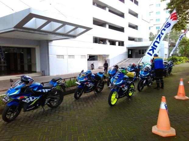 Kampanyekan Safety Riding, Komunitas Suzuki GSX150 ngeGass ke Toraja (1)
