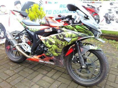 Kampanyekan Safety Riding, Komunitas Suzuki GSX150 ngeGass ke Toraja (5)