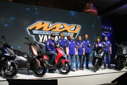 Kaya Fitur, Yamaha Lexi Jadi Keluarga Baru MAXI Yamaha (1)