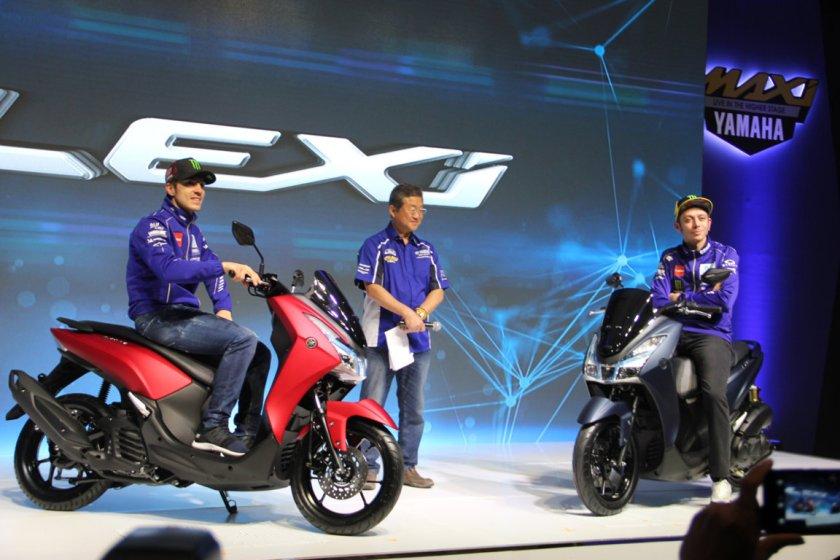 Kaya Fitur, Yamaha Lexi Jadi Keluarga Baru MAXI Yamaha (2)