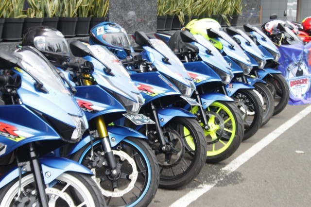 Kompak, Bikers Suzuki Gelar Sunmori Suzuki Super Star (2)