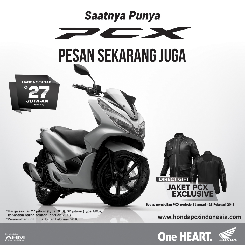 PCX Program Sales