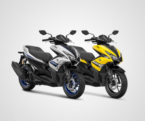 Yamaha Segarkan Tampilan Aerox 155VVA R-Version Tahun 2018