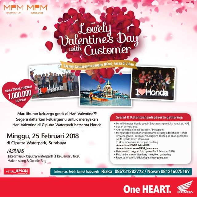Rayakan Hari Kasih Sayang, MPM Ajak Konsumen Terpilih Berwisata Gratis.jpeg
