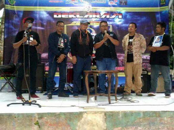 Wakil Walikota, Resmikan GSX Club Indonesia Sukabumi (1)