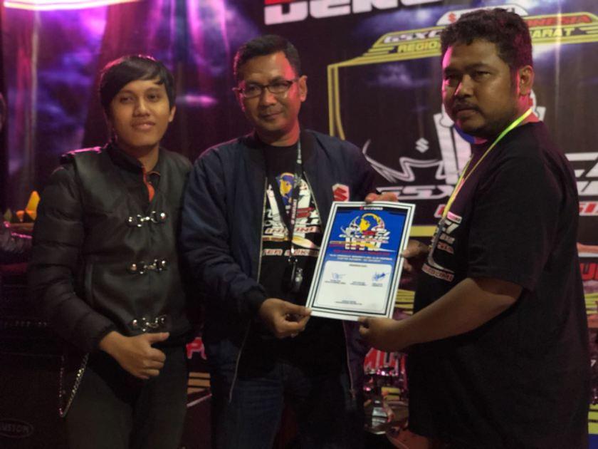 Wakil Walikota, Resmikan GSX Club Indonesia Sukabumi (5)