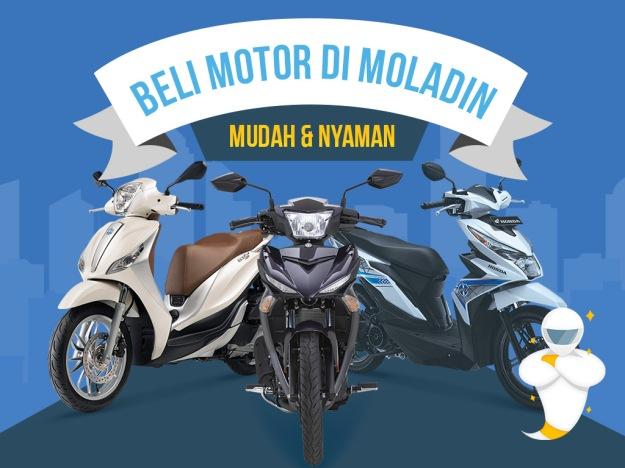 Dijamin Mudah, Berikut Proses Beli Motor di Moladin (1)