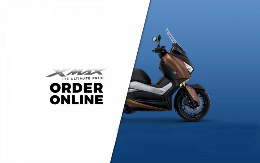 Komitmen Yamaha, Siap Layani Order Onlina XMAX